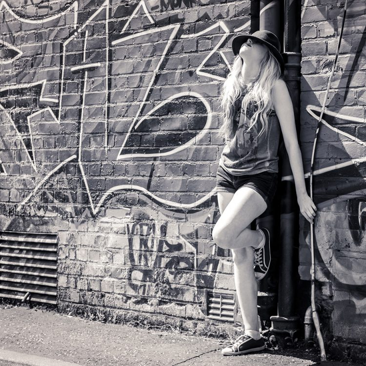 First Fashion and Portrait Photography shoot with Charlie in Belfast City - Prints of Portraits